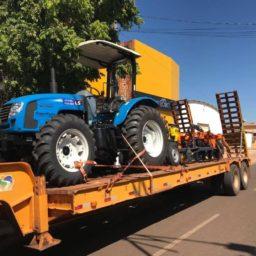 Prefeitura de Nova Xavantina recebe Patrulha Mecanizada para Agricultura Familiar