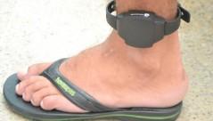 Suspeito flagrado com tornozeleira desligada